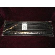 Bougies Pique Mousse 39cm Noir x 50