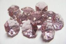 Diamant 12mm Rose Améthyste x 120
