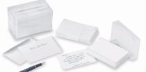 Enveloppes de visite Blanc 120g x 100