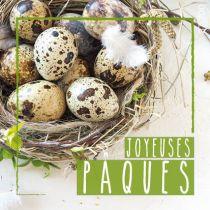 """Etiquettes Voeux \""""Joyeuses Pâques\"""" ( x 500 )"""