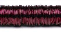 133003-Fil deco laque 0.50mm-Bordeaux
