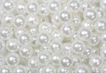 Perles 10mm Blanc