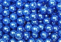 Perles 10mm Bleu