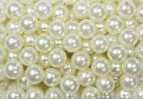 Perles 10mm Champagne