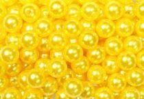 Perles 10mm Jaune