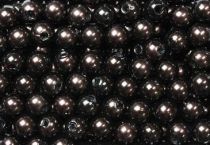 Perles 10mm Marron