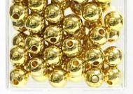 Perles Metallic 10mm Or