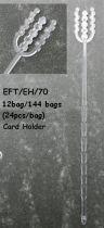 Pic Porte-étiquette en plastique x 24