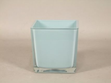 Pot SQUARE CUBE Bleu ciel