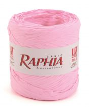 Raphia Basic 200m Rose Pâle
