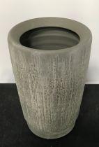 Vase Céramique D10 H23,5 Gris Foncé