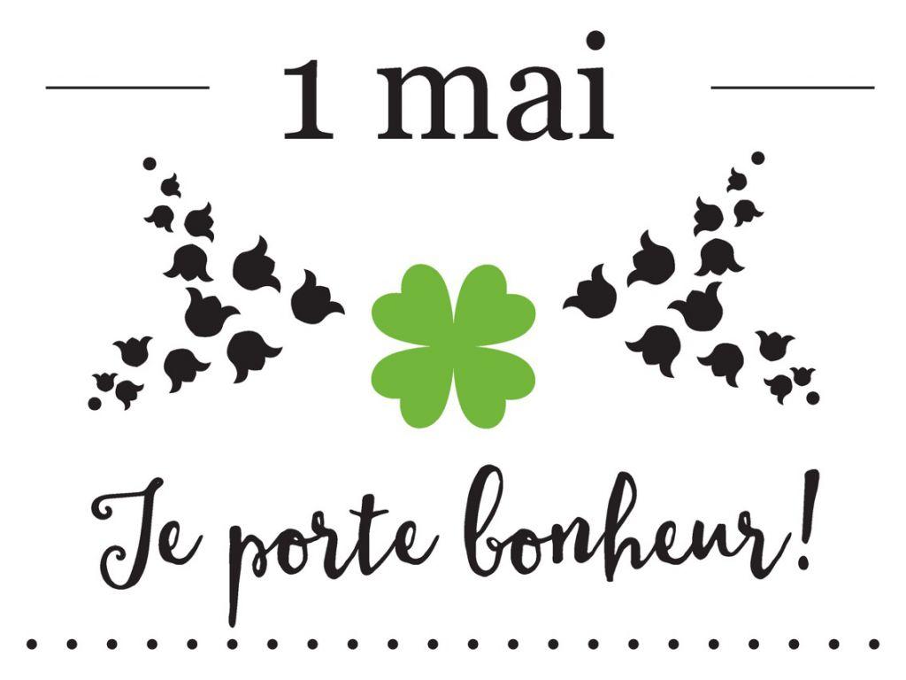 """Bannière Statique 10m \""""Je Porte Bonheur\"""""""