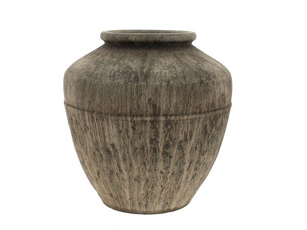 Cache Pot Céramique D29 H29 Marron