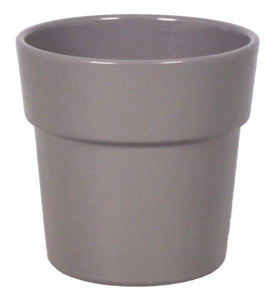 Cache Pot Orchidée Rim D12,5 H12,5 Gris