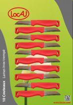 Carte 10 Couteaux