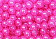 Epingle Tête Perle 6mm Fushia