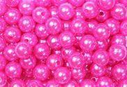 Epingle Tête Perle 6mm Fushia