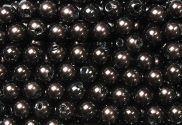 Epingle Tête Perle 6mm Marron (Brandy)