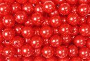 Epingle Tête Perle 6mm Rouge