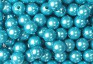 Epingle Tête Perle 6mm Turquoise