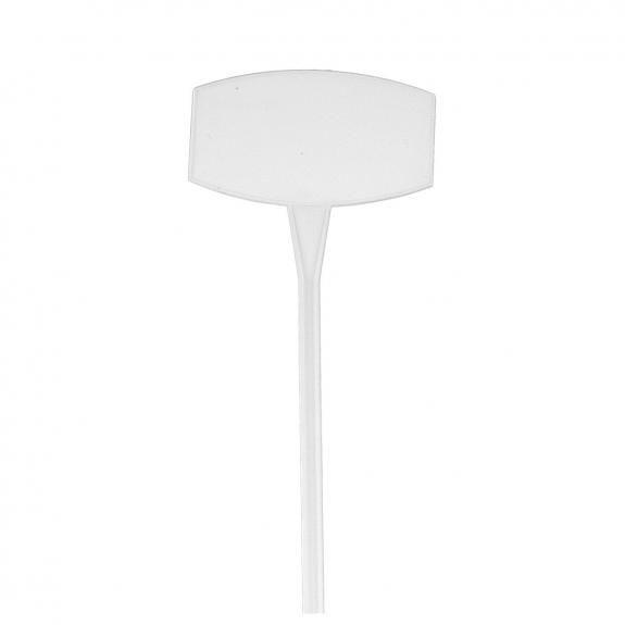Etiquette Prix 9,5x6 H35 Blanc ( x 10 )
