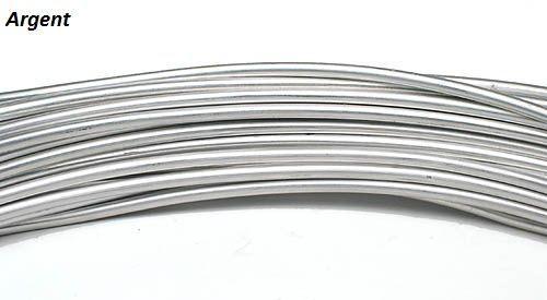 Fil Alu 2mm x 60m - Argent