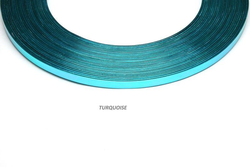192827-Fil Alu plat 1mmx5mmx10m Turquoise