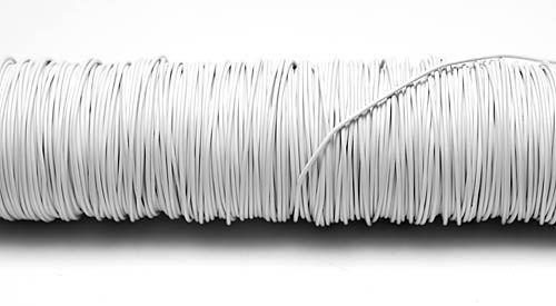 133028-Fil deco laque 0.50mm-Blanc