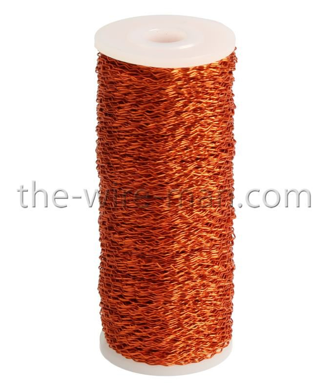 Fil Métal Bouillon 0,3mm x 140m Orange