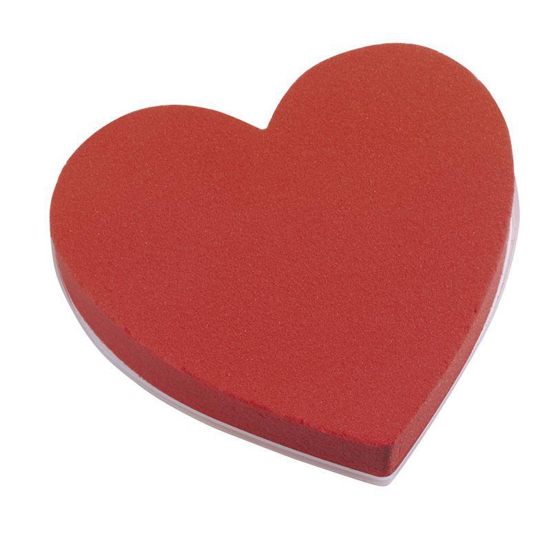 Mousse Coeur D18 Rouge