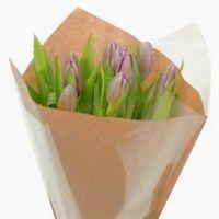 Poche à bouquets DOUBLE KRAFT Naturel