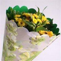 Housse FASHION Violet avec fleurs