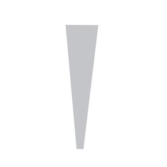 Poche à Rose 55x13,5x3 Neutre 40µ ( x 50 )