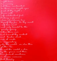 Poche à Rose Dedication 16x100 Rouge