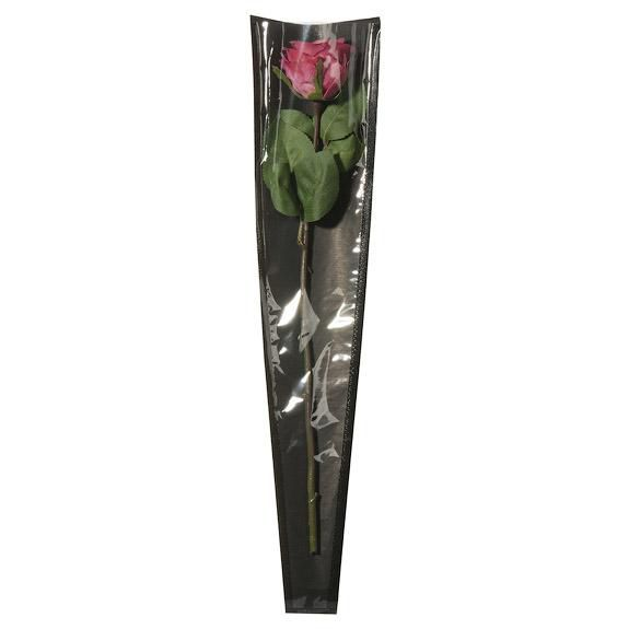 Poche à Rose Kraft 55x12x3 Noir ( x 50 )