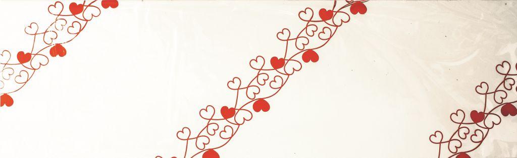 Poche à Rose Valentine 16x100 Rouge