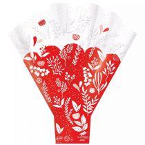 Poche Bouquet Aurore 50x44x12 Rouge ( x 50 )