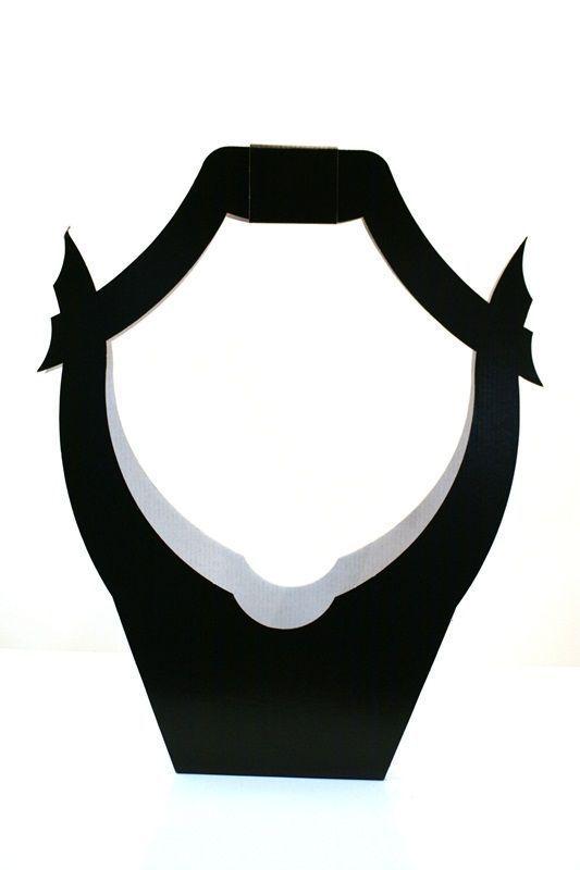 Porte-bouquet Noir