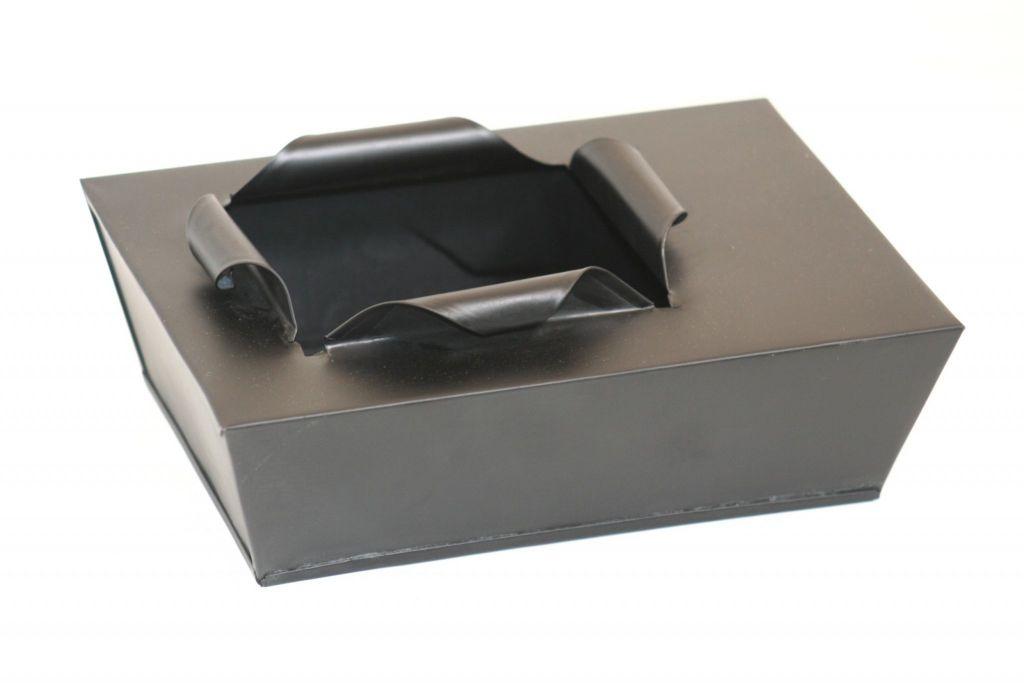 DELONG-ZW017-Pot rectangle Noir à ouverture originale