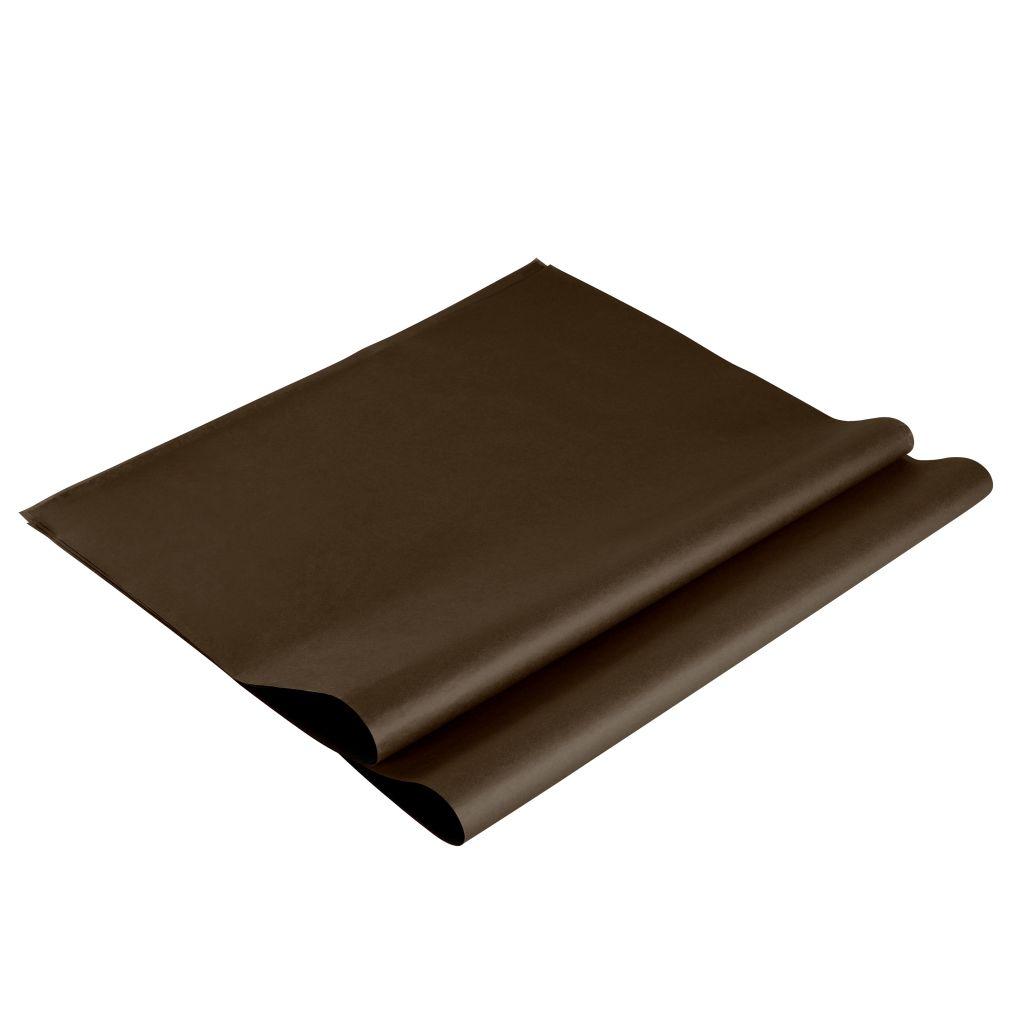 Rame PAPIER DE SOIE 17g 240 Feuilles Chocolat