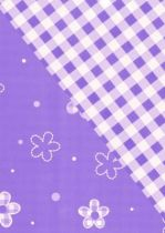 Rouleau Bulle Double Vichy 0,60x50m Lilas