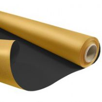 Rouleau Duo Kraft  0,79x40m Or/Noir