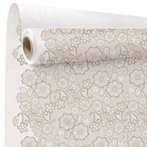 Rouleau Kraft Broderie 0,80x40m Champagne
