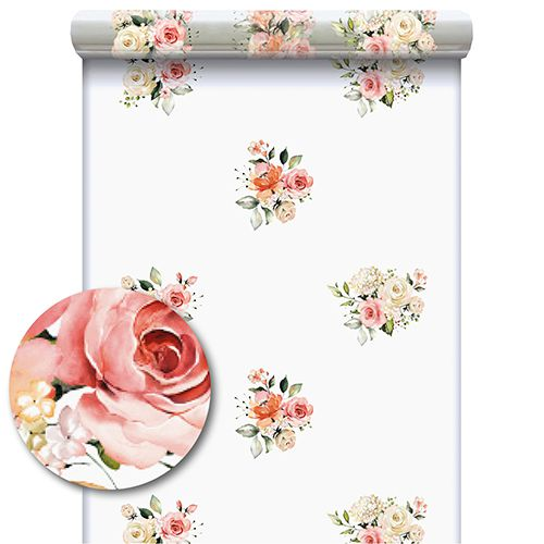 Rouleau Polypro Charme 0,60x120m Rose