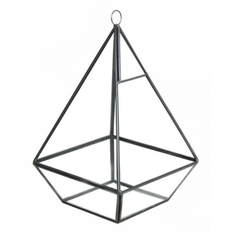 Terrarium Fer 16x16 H26 Noir