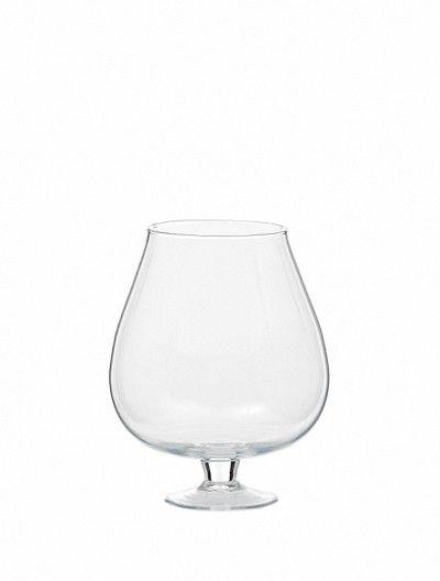 Vase Verre Cognac Napoleon D12,5 H18/23