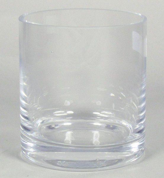 Vase Verre Cylindre D10 H11