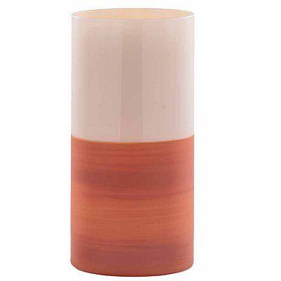 Vase Verre Melissa D10 H15 Crème